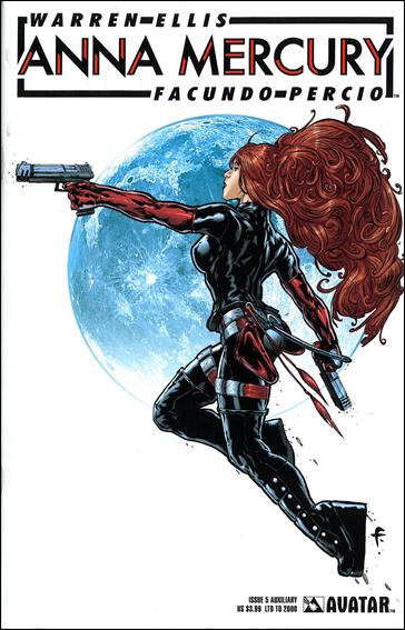 Anna Mercury 5-D by Avatar Press