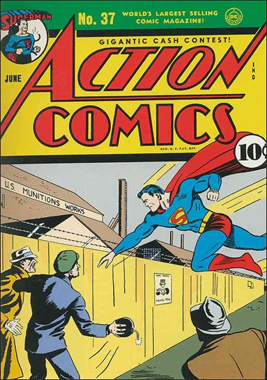 Action Comics (1938) 37-A by DC