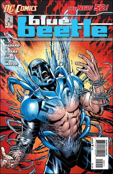Blue Beetle (2011) 2-A by DC
