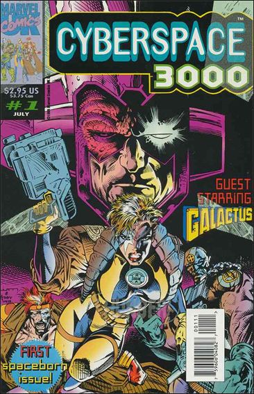 Cyberspace 3000 (UK) 1-A by Marvel UK