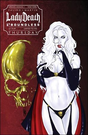 Lady Death Origins Annual 1-D