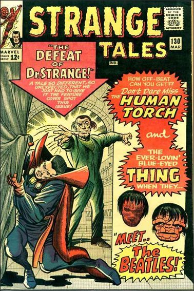 Strange Tales (1951) 130-A by Marvel