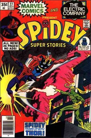 Spidey Super Stories 27-A by Marvel