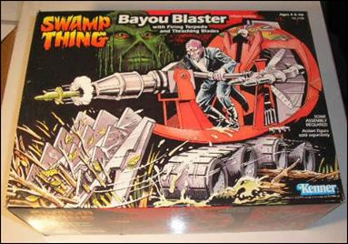 Swamp Thing (Vehicles and Playsets) Bayou Blaster by Kenner