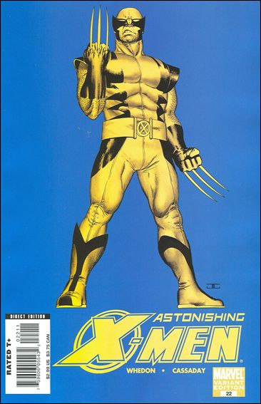Astonishing X-Men (2004) 22-B by Marvel