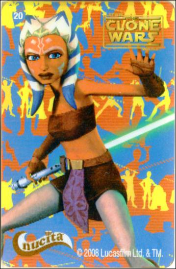 Star Wars The Clone Wars Nucita Motion Cards (Promo) 20-A by Lucasfilm Ltd.