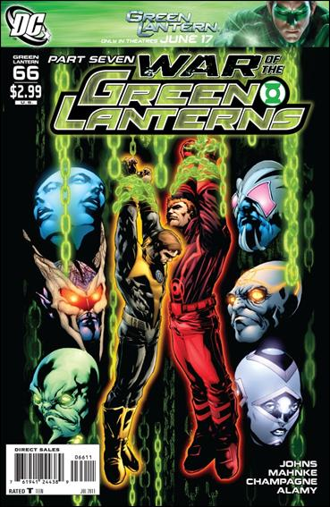 Green Lantern (2005) 66-A by DC