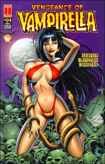 Vengeance of Vampirella 24-A by Harris