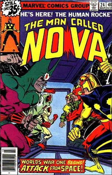 Nova (1976) 24-A by Marvel
