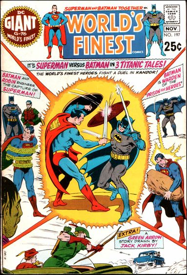 World's Finest Comics 197-A by DC