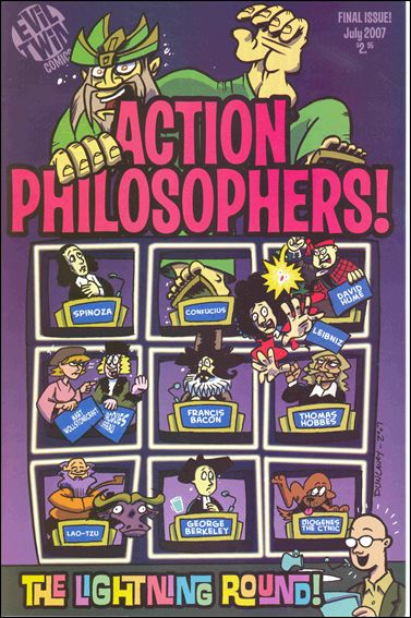 Action Philosophers 9-A by Evil Twin Comics