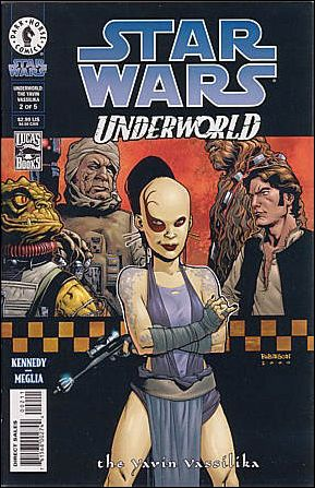 Star Wars: Underworld - The Yavin Vassilika 2-A by Dark Horse