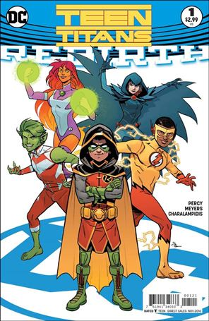 Teen Titans: Rebirth 1-B