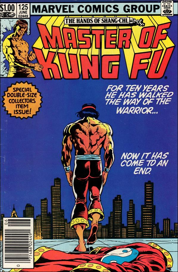 Master of Kung Fu 125-A by Marvel