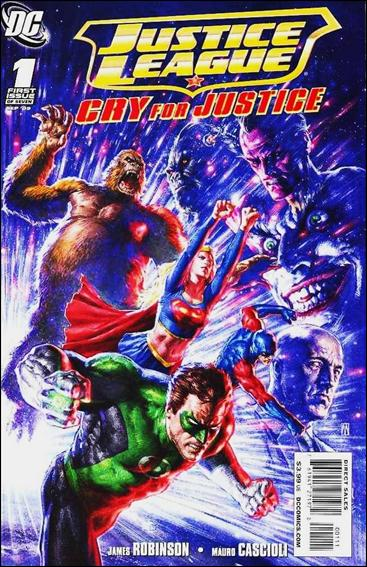 Justice League: Cry for Justice 1-B by DC