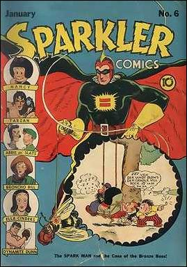Sparkler Comics (1941) 6-A by United Features Syndicate