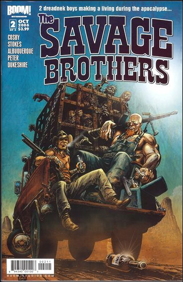 Savage Brothers 2-A by Boom! Studios