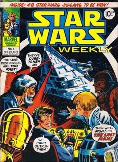 Star Wars Weekly (UK) 4-A by Marvel UK