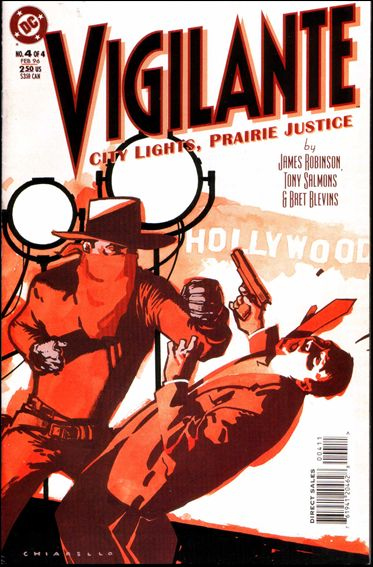 Vigilante: City Lights, Prairie Justice 4-A by DC