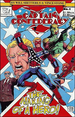 Captain Confederacy (1986) 1-A by SteelDragon Press