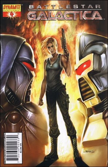 Battlestar Galactica (2006) 4-A by Dynamite Entertainment