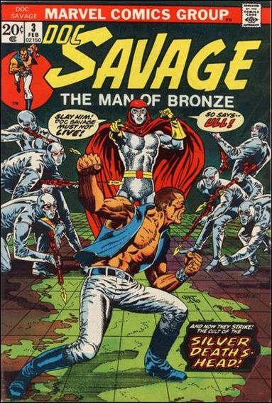 Doc Savage (1972) 3-A by Marvel