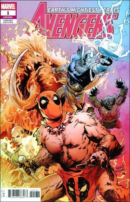 Avengers (2018/07) 1-C by Marvel