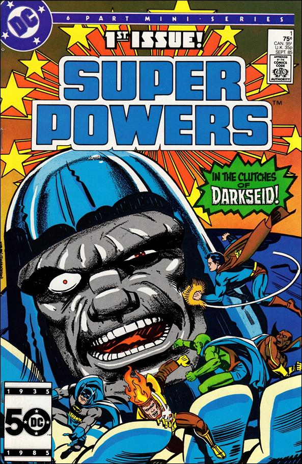 Super Powers (1985) 1-A by DC