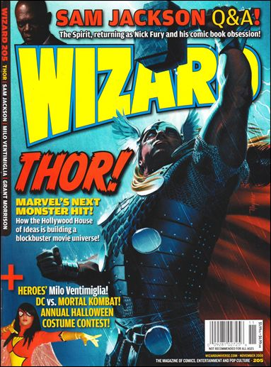 Wizard: The Magazine of Comics, Entertainment and Pop Culture 205-B by Wizard Press