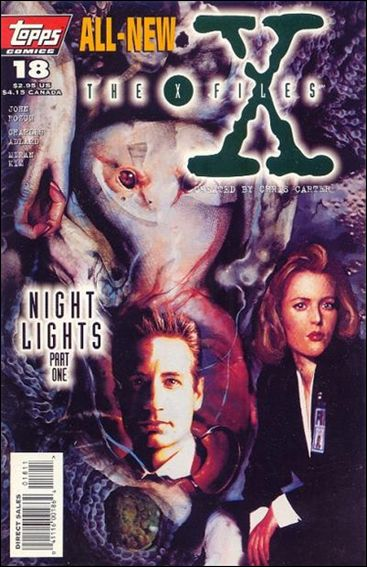 X-Files (1995) 18-A by Topps