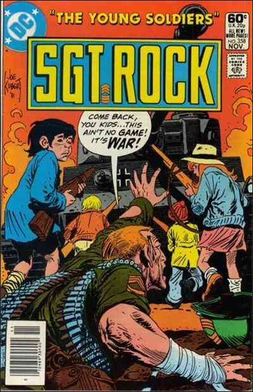 Sgt. Rock (1977) 358-A by DC