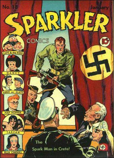Sparkler Comics (1941) 18-A by United Features Syndicate