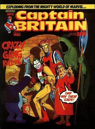 Captain Britain (UK) (1985) 2-A