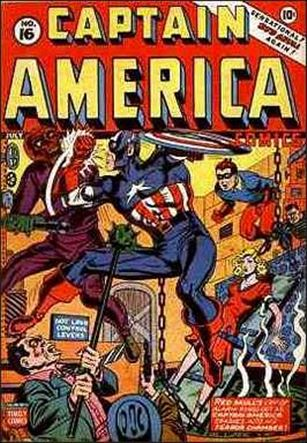 Captain America Comics (1941) 16-A