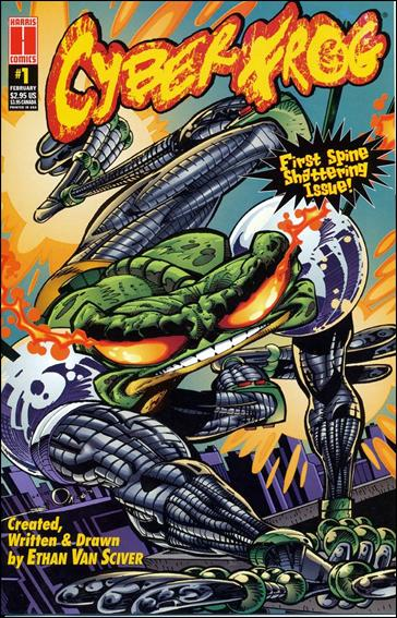 CyberFrog (1996) 1-A by Harris