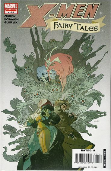 X-Men Fairy Tales 4-A by Marvel