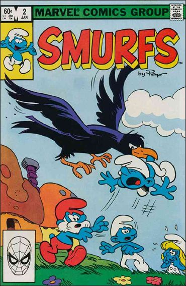 Smurfs (1982) 2-A by Marvel