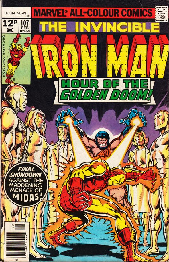 Iron Man (1968) 107-B by Marvel
