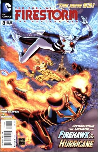 Fury of Firestorm: The Nuclear Men 8-A by DC