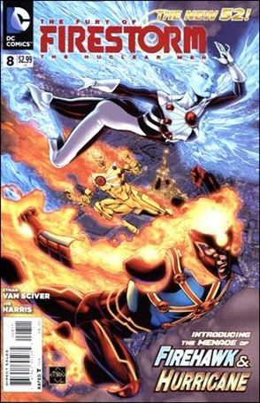 Fury of Firestorm: The Nuclear Men 8-A
