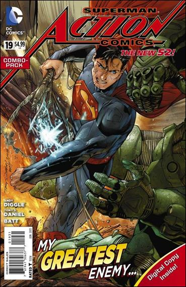 Action Comics (2011) 19-B by DC