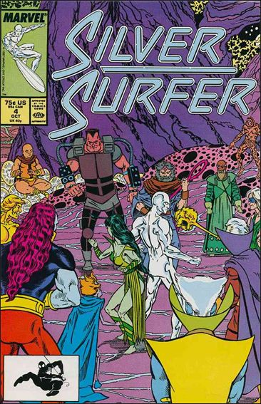 Silver Surfer (1987) 4-A by Marvel