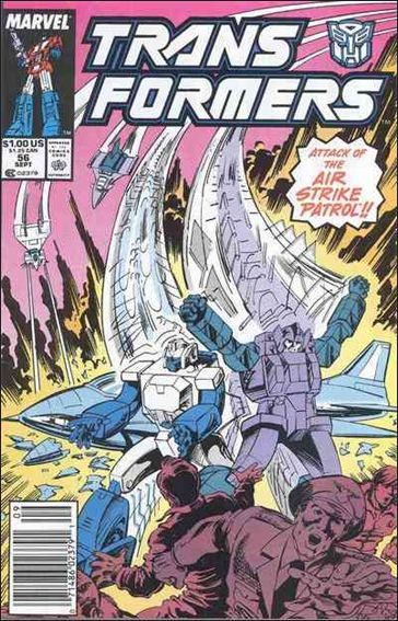 Transformers (1984) 56-A by Marvel