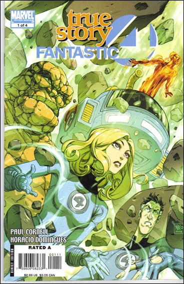 Fantastic Four: True Story 1-A by Marvel