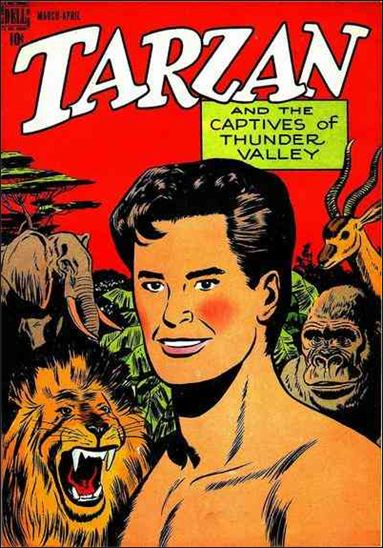 Tarzan (1948) 2-A by Dell