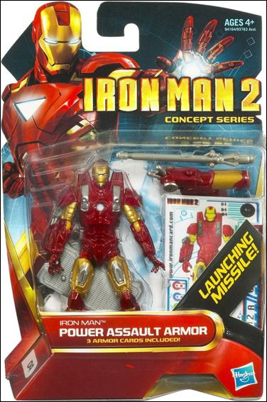 Iron Man 2 Iron Man - Power Assault Armor (Concept Series) by Hasbro
