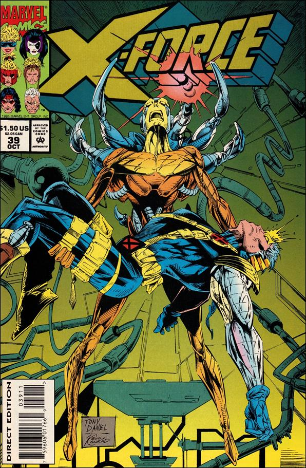 X-Force (1991) 39-A by Marvel