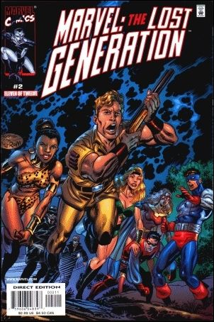Marvel: The Lost Generation 2-A by Marvel