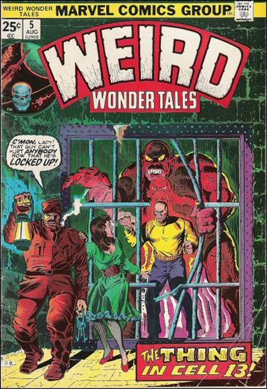 Weird Wonder Tales 5-A by Marvel