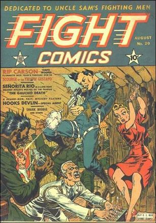 Fight Comics 20-A
